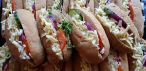 Buffet Rolls and Sandwiches